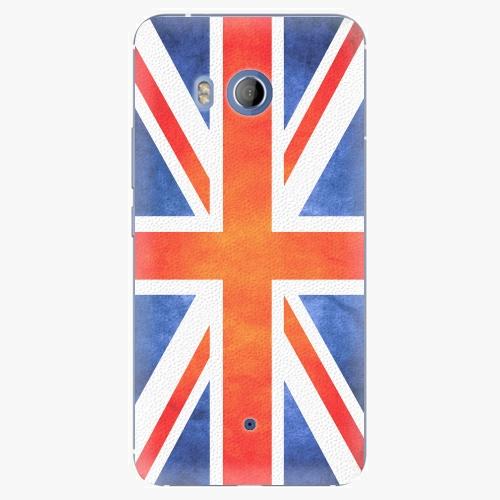 Plastový kryt iSaprio - UK Flag - HTC U11