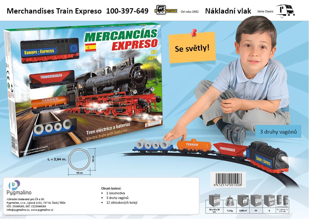 Pequetren Nákladní vlak 100