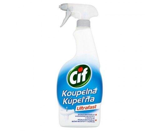Ultrafast koupelna čisticí sprej 750 ml