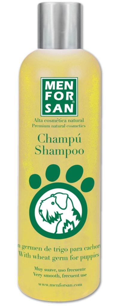 Menforsan Přírodní šampón pro štěňata z pšeničných klíčků