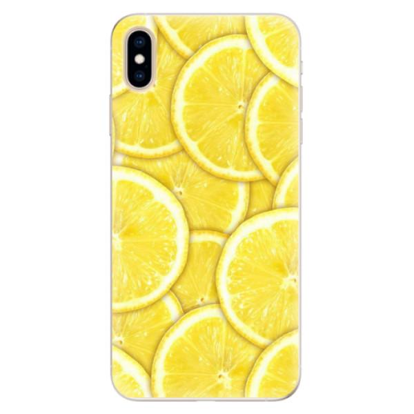 Silikonové pouzdro iSaprio - Yellow - iPhone XS Max