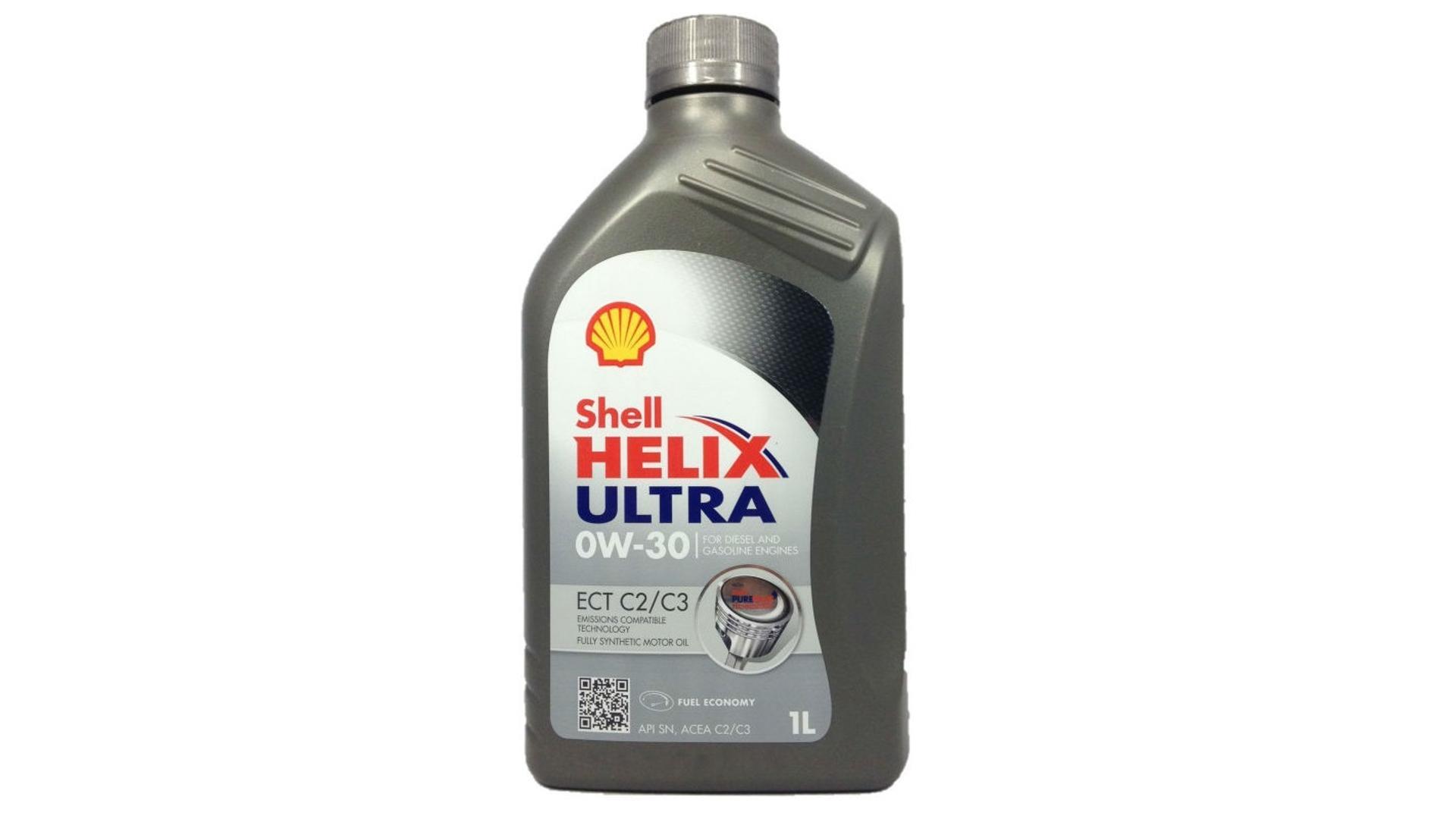 SHELL Olej Helix Ultra ECT C2/C3 0W30 1L