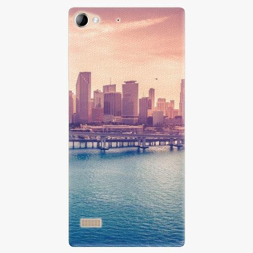 Plastový kryt iSaprio - Morning in a City - Lenovo Vibe X2