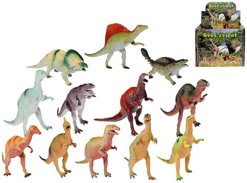 Dinosaurus plastový 26 - 32 cm