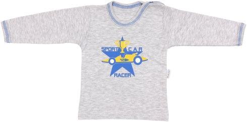 Bavlněné tričko Four - dlouhý rukáv - 74 (6-9m)