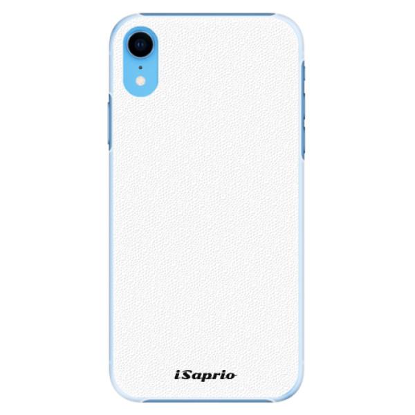 Plastové pouzdro iSaprio - 4Pure - bílý - iPhone XR
