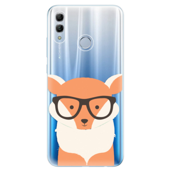 Odolné silikonové pouzdro iSaprio - Orange Fox - Huawei Honor 10 Lite