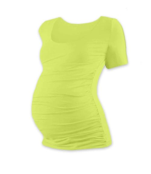 jozanek-tehotenske-triko-kratky-rukav-johanka-svetle-zelena-s-m