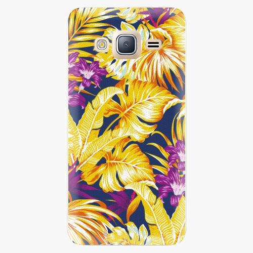 Plastový kryt iSaprio - Tropical Orange 04 - Samsung Galaxy J3