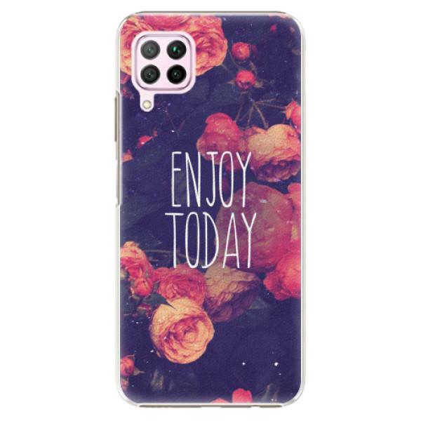 Plastové pouzdro iSaprio - Enjoy Today - Huawei P40 Lite