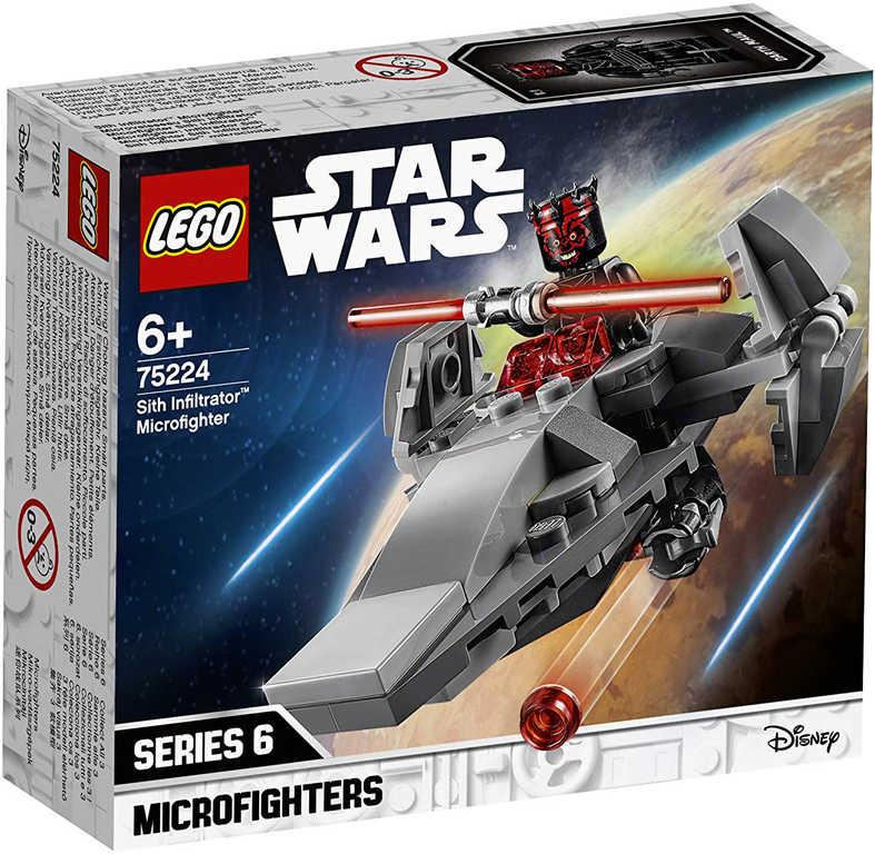 LEGO STAR WARS Mikrostíhačka Sithů 75224
