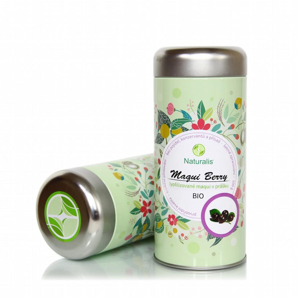 Maqui Berry Naturalis BIO - 100g + prodloužená záruka na vrácení zboží