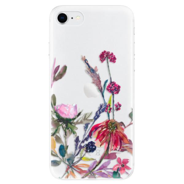 Odolné silikonové pouzdro iSaprio - Herbs 02 - iPhone SE 2020