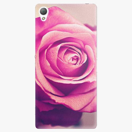 Plastový kryt iSaprio - Pink Rose - Sony Xperia Z3