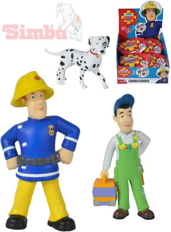 SIMBA Požárník Sam figurka plastová 1.serie - 12 druhů