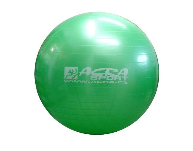 Míč gymnastický 750 mm zelený