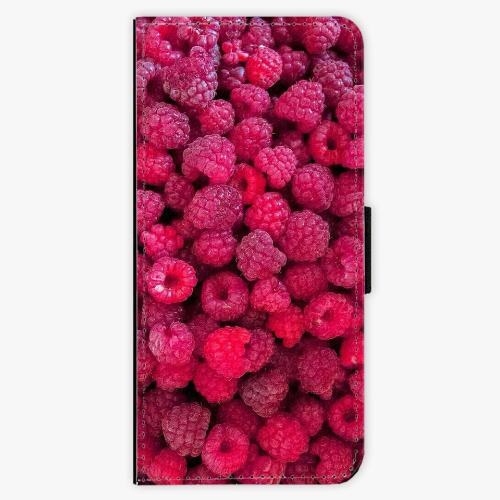 Flipové pouzdro iSaprio - Raspberry - Samsung Galaxy S8 Plus