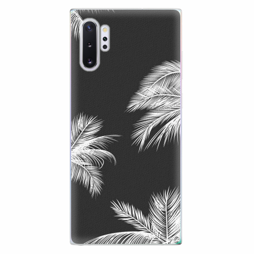 Silikonové pouzdro iSaprio - White Palm - Samsung Galaxy Note 10+