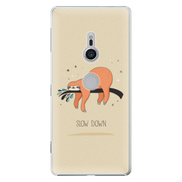 Plastové pouzdro iSaprio - Slow Down - Sony Xperia XZ2