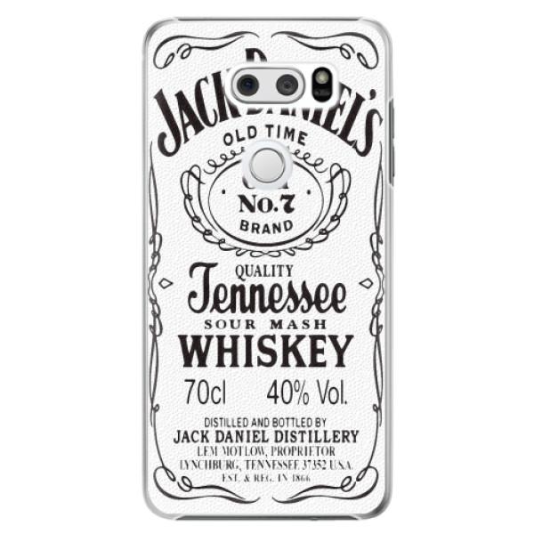 Plastové pouzdro iSaprio - Jack White - LG V30