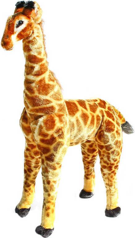 PLYŠ Žirafa stojící 91cm na sezení *PLYŠOVÉ HRAČKY*