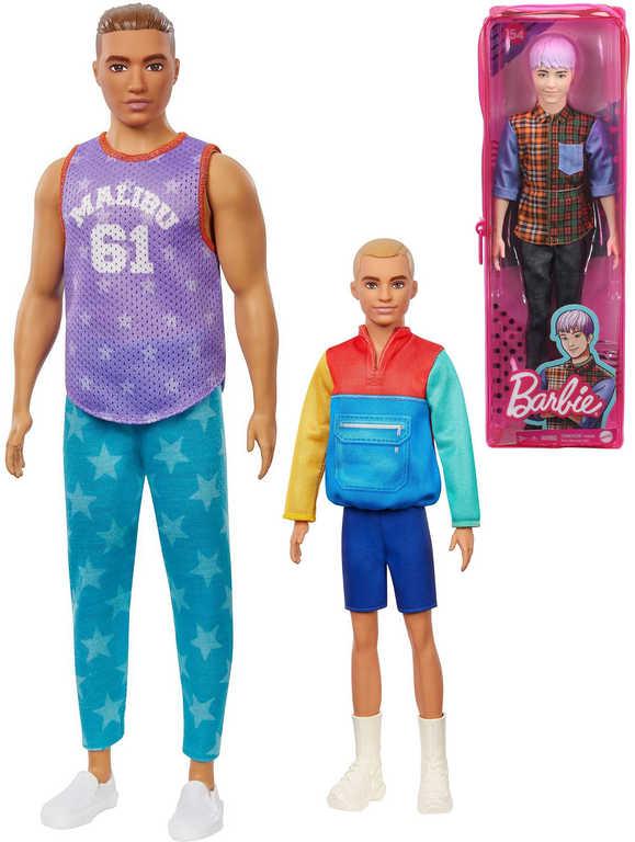 MATTEL BRB Barbie Fashionistas panák Ken model 5 druhů v krabičce