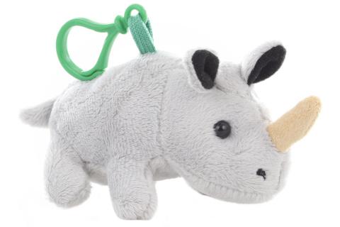 Plyš Nosorožec klíčenka