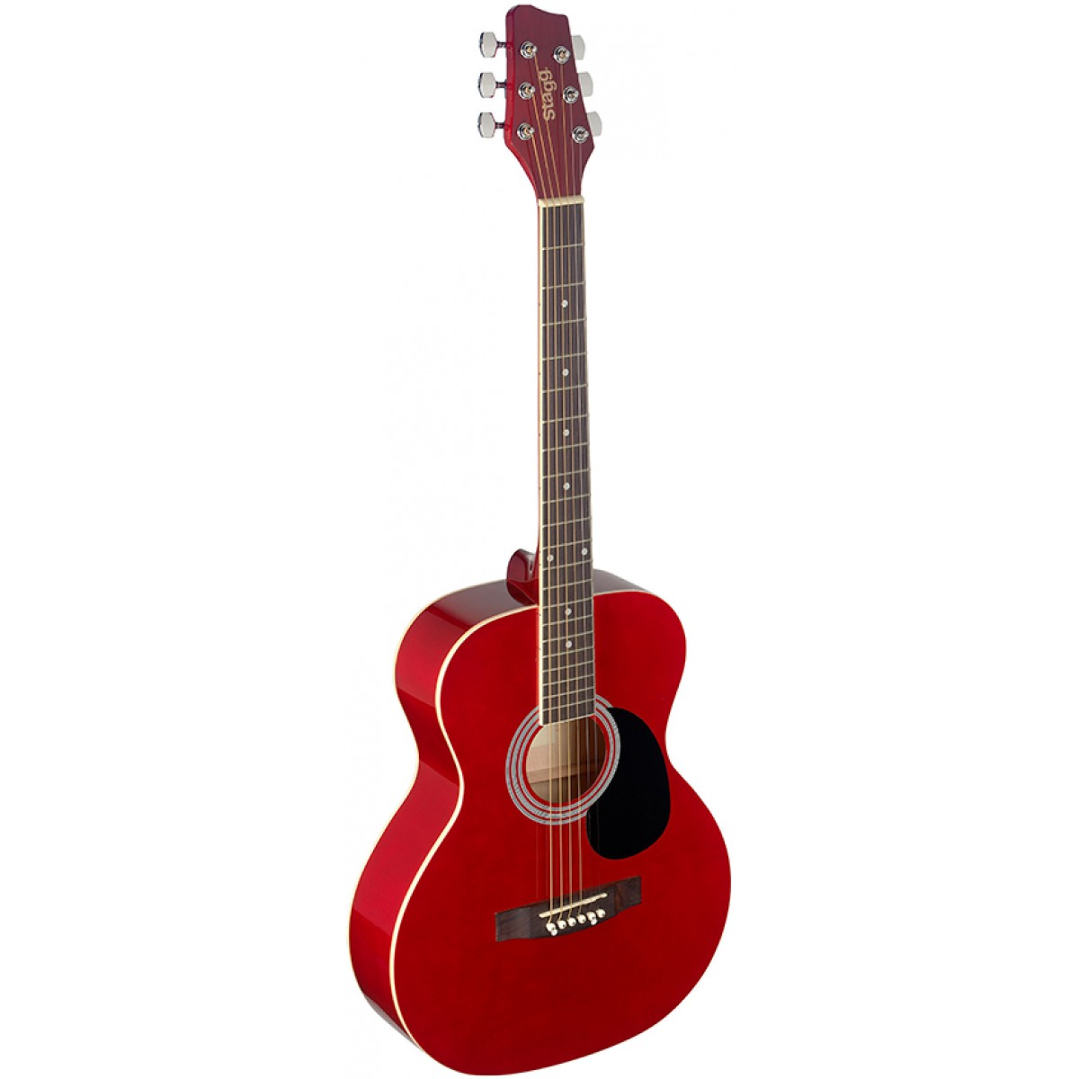 Stagg SA20A RED, akustická kytara