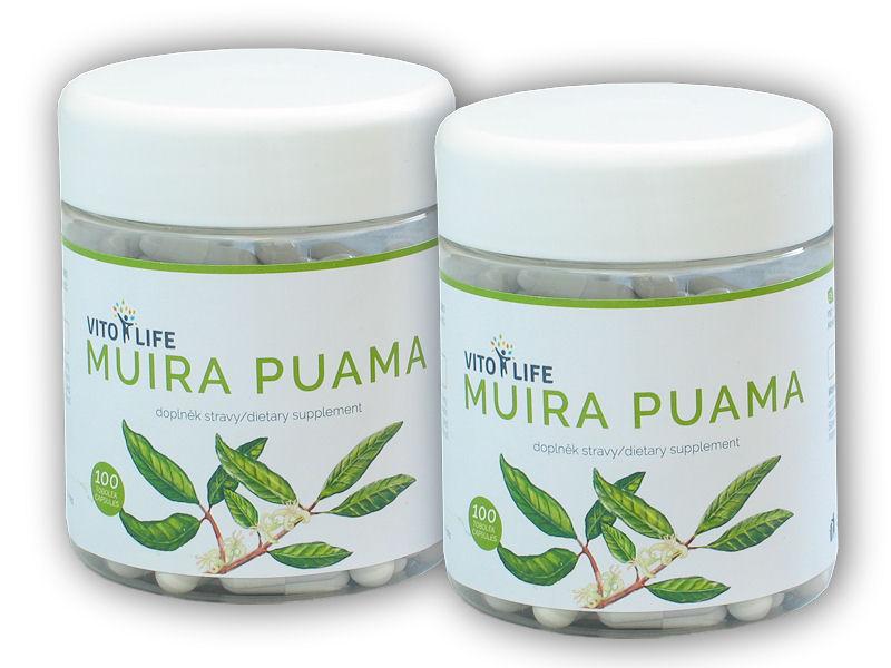 2x Muira Puama 100 kapslí