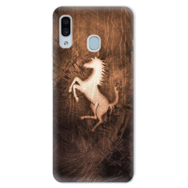 Silikonové pouzdro iSaprio - Vintage Horse - Samsung Galaxy A30