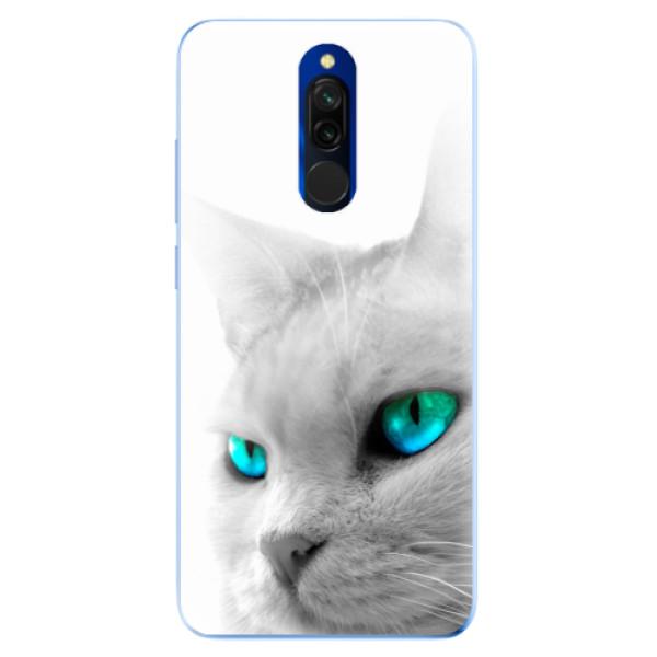 Odolné silikonové pouzdro iSaprio - Cats Eyes - Xiaomi Redmi 8
