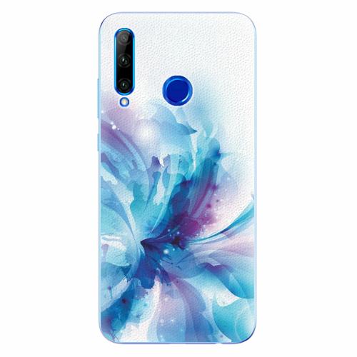 Silikonové pouzdro iSaprio - Abstract Flower - Huawei Honor 20 Lite