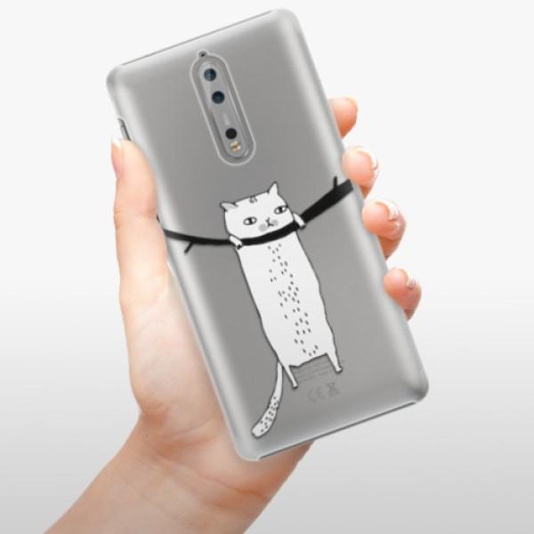 Plastové pouzdro iSaprio - Hang in there - Nokia 8