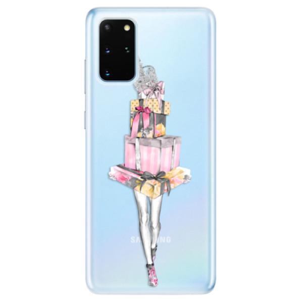 Odolné silikonové pouzdro iSaprio - Queen of Shopping - Samsung Galaxy S20+