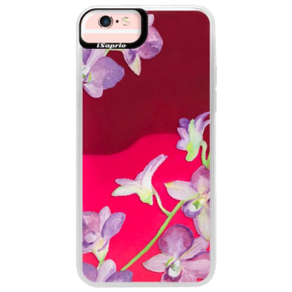 Neonové pouzdro Pink iSaprio - Purple Orchid - iPhone 6 Plus/6S Plus