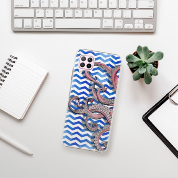 Plastové pouzdro iSaprio - Octopus - Huawei P40 Lite