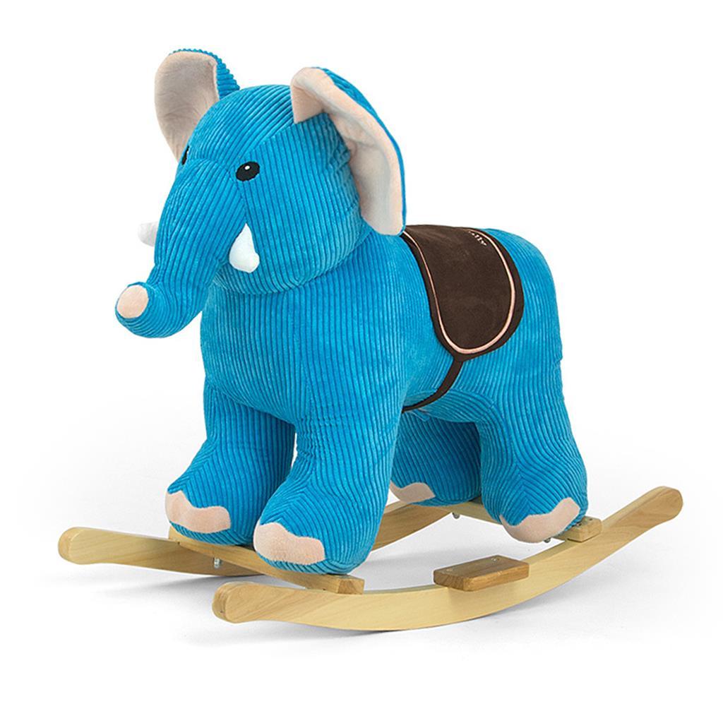 Houpací hračka s melodií Elephant - modrá