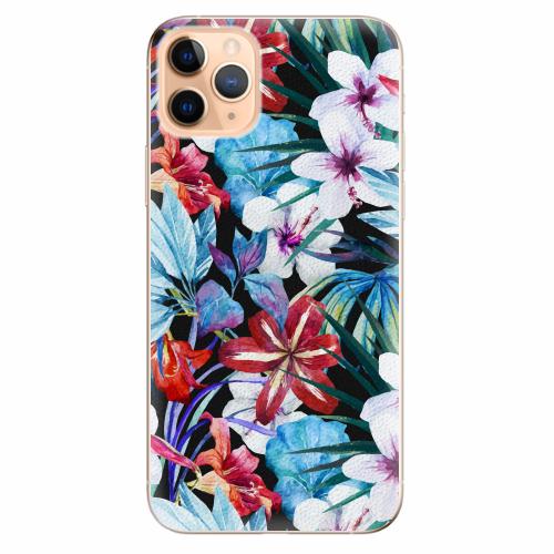 Silikonové pouzdro iSaprio - Tropical Flowers 05 - iPhone 11 Pro Max