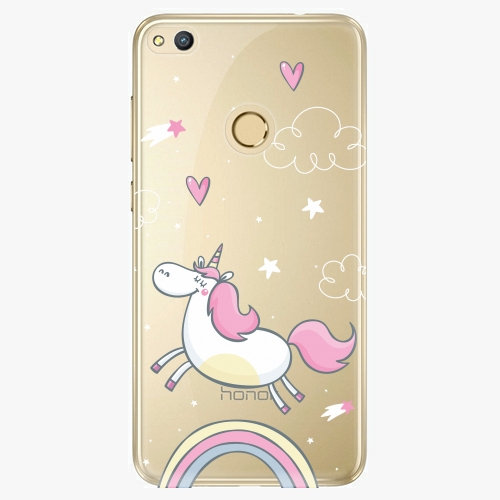 Plastový kryt iSaprio - Unicorn 01 - Huawei Honor 8 Lite