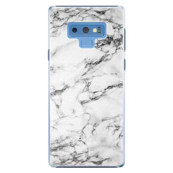 Plastové pouzdro iSaprio - White Marble 01 - Samsung Galaxy Note 9