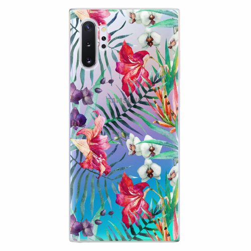 Silikonové pouzdro iSaprio - Flower Pattern 03 - Samsung Galaxy Note 10+