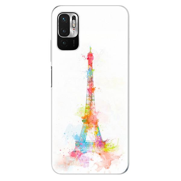Odolné silikonové pouzdro iSaprio - Eiffel Tower - Xiaomi Redmi Note 10 5G
