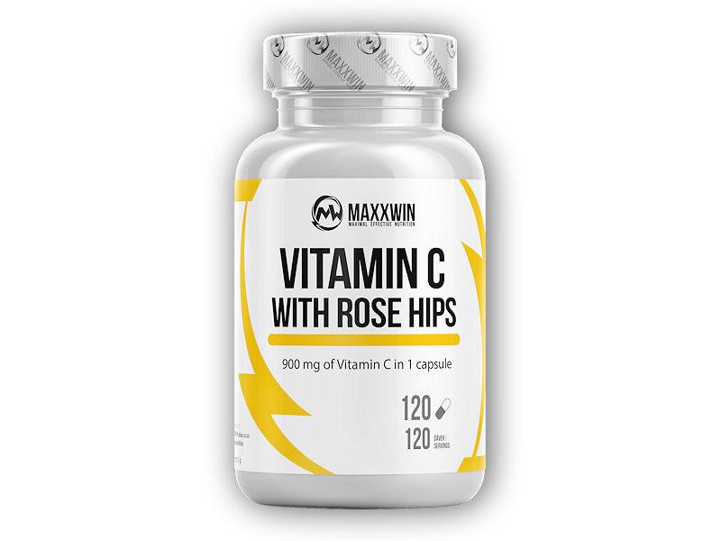 Vitamin C 1000 with rose hips 120 kapslí