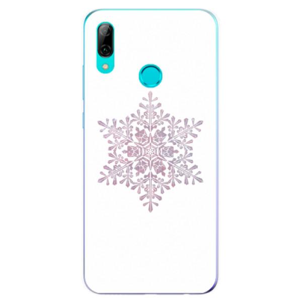 Odolné silikonové pouzdro iSaprio - Snow Flake - Huawei P Smart 2019