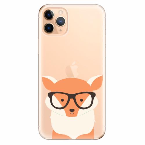 Silikonové pouzdro iSaprio - Orange Fox - iPhone 11 Pro Max