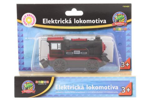 Elektrická lokomotiva - černá
