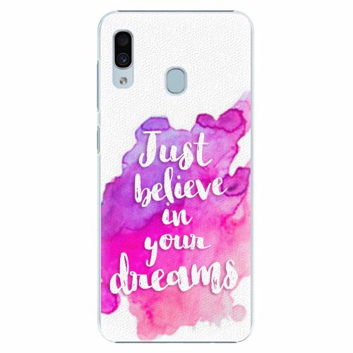 Plastový kryt iSaprio - Believe - Samsung Galaxy A30