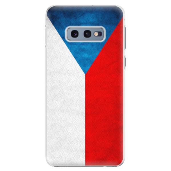 Plastové pouzdro iSaprio - Czech Flag - Samsung Galaxy S10e