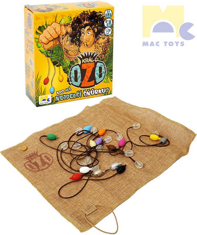 MAC TOYS Hra Král Ozo Kdo má nejdelší šňůrku? *SPOLEČENSKÉ HRY*