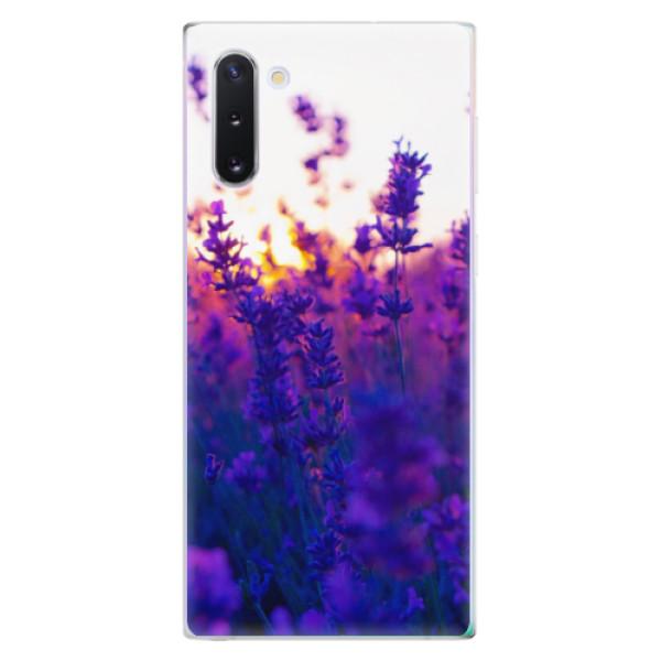 Odolné silikonové pouzdro iSaprio - Lavender Field - Samsung Galaxy Note 10